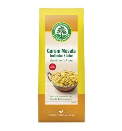 Bio Condiment Bucataria Indiana Garam Masala Lebensbaum 40 g