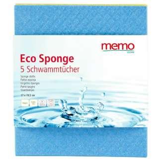 Eco Lavete Naturale 100% Biodegradabile Memo 5 buc