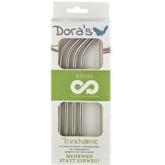 Paie din Otel Inoxidabil Reutilizabile set 4 buc Dora's