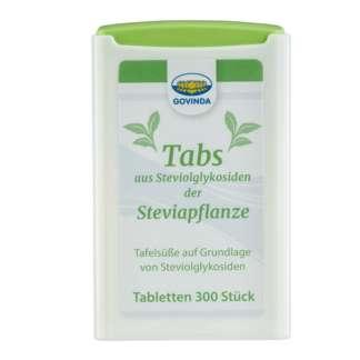 Indulcitor Stevia Tablete Govinda 18 g 300 buc