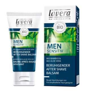 Balsam After Shave Calmant si Hidratant Men Sensitiv Lavera 50 ml