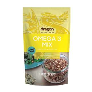 Bio Mix Omega 3 Raw Vegan Fara Gluten Dragon SuperFoods 200 g