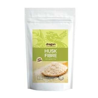 Bio Tarate de Psyllium Raw Fara Gluten Dragon Superfoods 150 g
