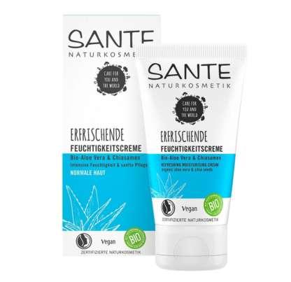 Crema Hidratanta cu Aloe Vera si Extract de Seminte de Chia Sante 50 ml