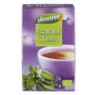 Bio Ceai de Salvie Dennree 20 pliculete 30 g