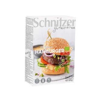 Bio Chifle pentru Hamburger Fara Gluten Schnitzer 2 buc 125 g
