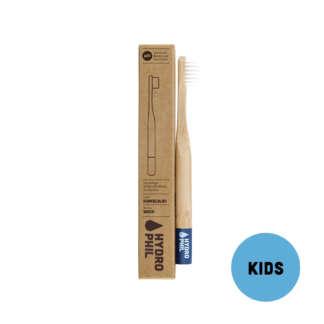 Periuta de Dinti pentru Copii din Bambus Extra Soft Albastru Hydrophil 1 buc