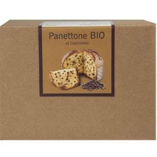 Bio Panettone cu Ciocolata Fraccaro 500 g