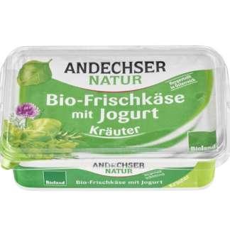 Bio Crema de Branza cu Verdeturi 65 % Andechser Natur 175 g