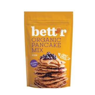 Bio Mix pentru Clatite Fara Gluten Vegan Bettr 400 g