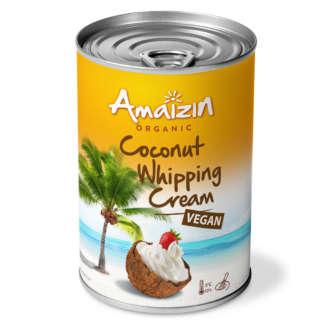 Bio Smantana din Nuca de Cocos pentru Frisca Vegan Amaizin 400 ml
