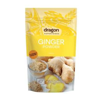 Pudra de Ghimbir Bio Dragon Superfoods 200 g