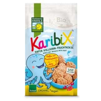 Bio Biscuiti Karibix din Faina Integrala de Ovaz si Fructe Bohlsener Muhle