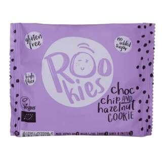 Bio Cookie cu Ciocolata si Alune Fara Gluten Rookies 40g