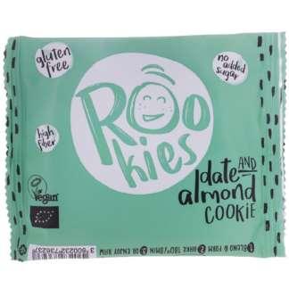 Bio Cookie cu Curmale si Migdale Fara Gluten Rookies 40 g