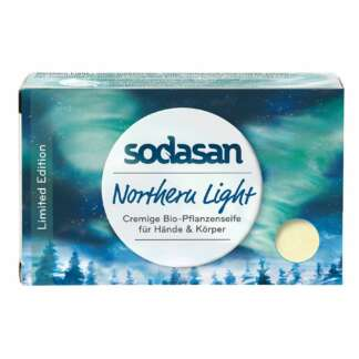 Sapun Solid Cremos Bio Maini si Corp Northern Light Sodasan 100 g