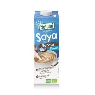 Bio Bautura din Soya si Cocos Barista Vegan Natumi 1 l