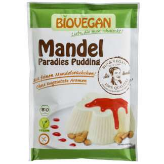 Bio Budinca de Migdale Fara Gluten Biovegan 49 g
