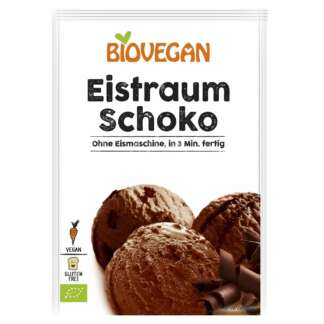 Bio Inghetata de Ciocolata Pudra Fara Gluten Vegan Biovegan 77 g