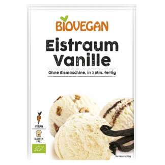 Bio Inghetata de Vanilie Pudra Fara Gluten Vegan Biovegan 77 g