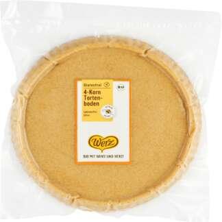 Bio Blat de Tort din 4 Cereale Fara Gluten Werz 400 g