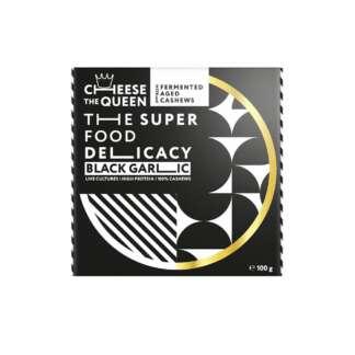 Bio Branza Maturata din Caju cu Usturoi Negru Cheese The Queen 100 g
