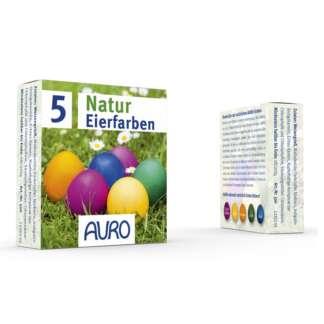 Vopsea de Oua Naturala 5 culori Auro