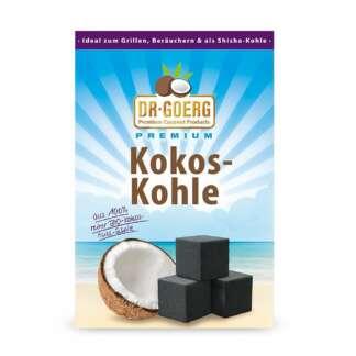 Carbune de Cocos pentru Gratar si Narghilea Dr.Goerg 1 kg
