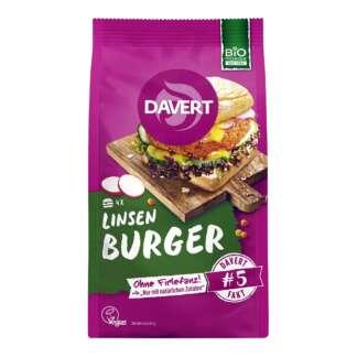 Bio Mix pentru Burger din Linte Davert 160 g