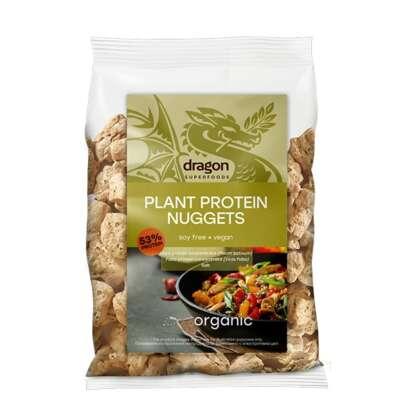 Bio Proteina Vegana din Mazare Nuggets Dragon Superfoods 150 g
