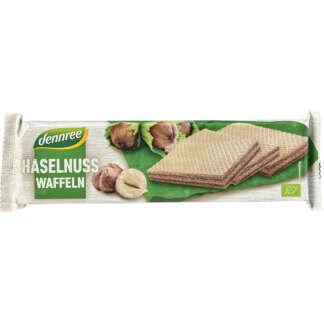 Bio Napolitana cu Alune Dennree 125 g