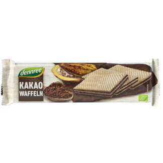 Bio Napolitana cu Cacao Dennree 125 g