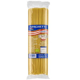 Bio Paste Spaghete din Grau Dur Eunature 500 g